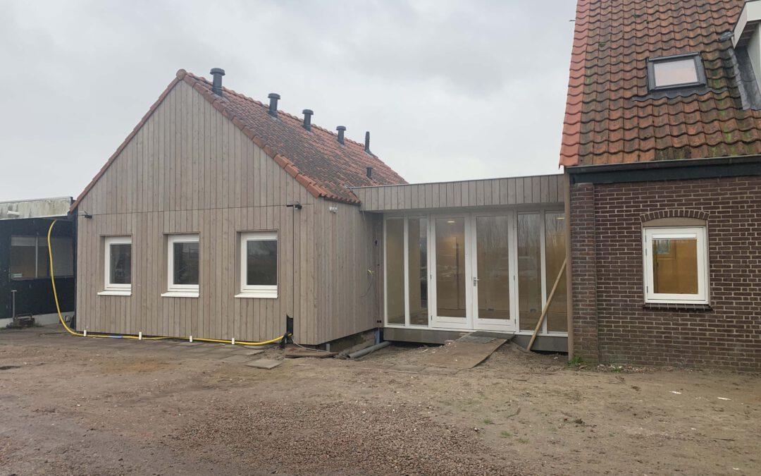Renovatie kantoor werkschuur boothuis  Westzaan