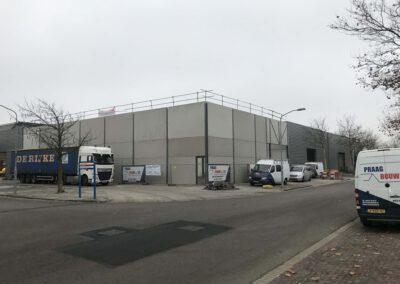 Nieuwbouw bedrijfshal Haarlem